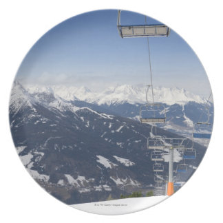 Empty Chair Lift Plate