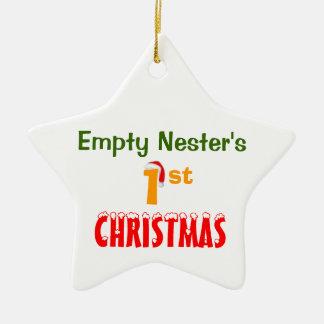 Empty Nester's 1st Christmas Christmas Ornament
