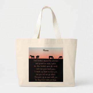 Empty Pasture Jumbo Tote Bag