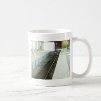 Empty Platform At Perth Railway Station Mug