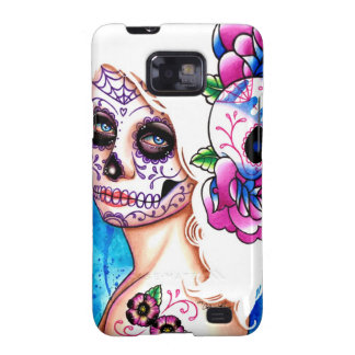 Empty Promises Day of the Dead Girl Galaxy S2 Case