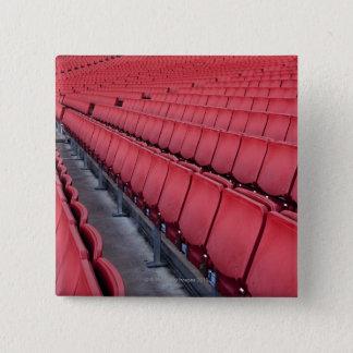 Empty Seats in Stadium 15 Cm Square Badge