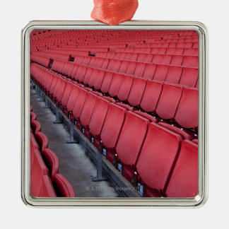 Empty Seats in Stadium Christmas Ornament