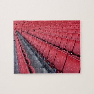 Empty Seats in Stadium Jigsaw Puzzle