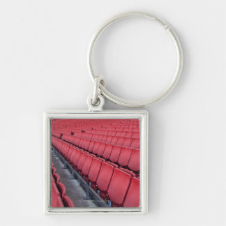Empty Seats in Stadium Key Ring