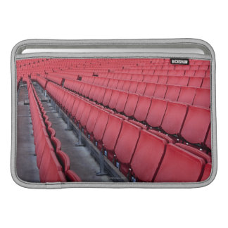 Empty Seats in Stadium MacBook Sleeve
