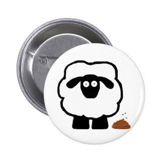 Empty Sheep Button