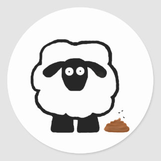Empty Sheep Stickers