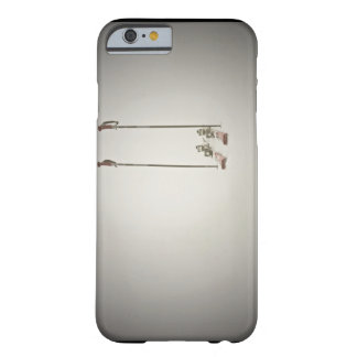 Empty Skis and Poles Barely There iPhone 6 Case