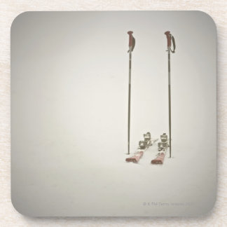 Empty Skis and Poles Coaster