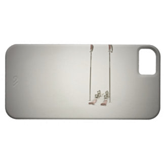 Empty Skis and Poles iPhone 5 Covers