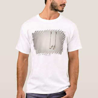 Empty Skis and Poles T-Shirt