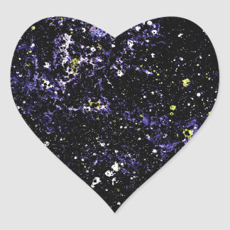 EMPTY SPACE (variant 2) ~ Heart Sticker