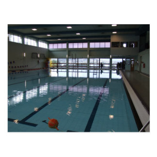 Empty Swimming Pool Postcard