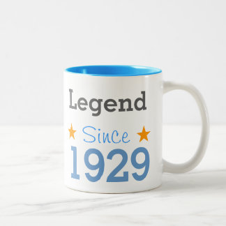 Emptying Since 1929 Two-Tone Mug
