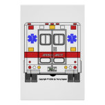 EMS-Ambulance Print