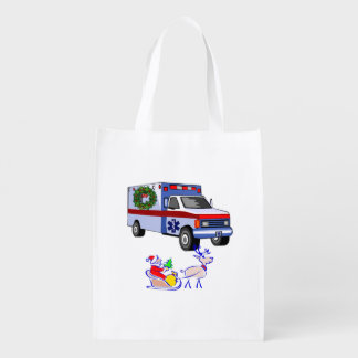 EMS Christmas Grocery Bag