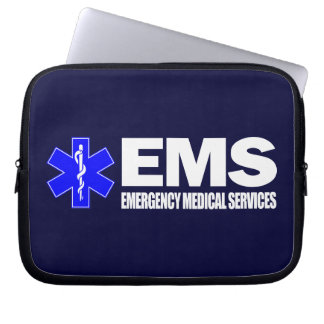 EMS -Emergency Medical Services Laptop Sleeve