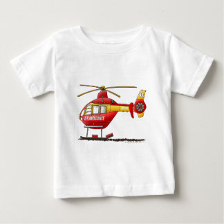 EMS EMT Rescue Medical Helicopter Ambulance Baby T-Shirt