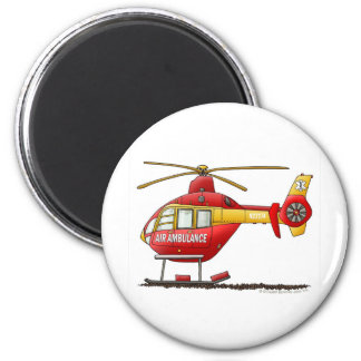 EMS EMT Rescue Medical Helicopter Ambulance Magnet
