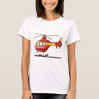 EMS EMT Rescue Medical Helicopter Ambulance T-Shirt