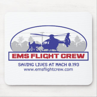 EMS Flight Crew Rotorwing Mouse Pad