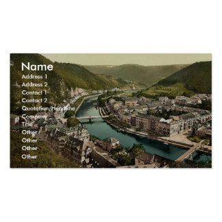 Ems (i.e., Bad Ems) from Kurberg, Ems, the Rhine, Pack Of Standard Business Cards