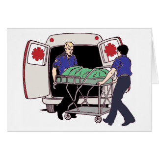 EMS Making a Difference Every Day Greeting Card