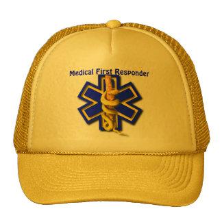 EMS Star of Life Medical First Responder Cap
