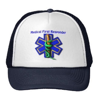 EMS Star of Life Medical First Responder Cap