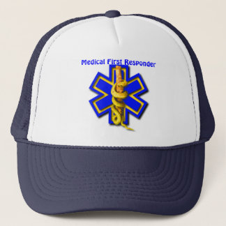 EMS Star of Life Medical First Responder Trucker Hat