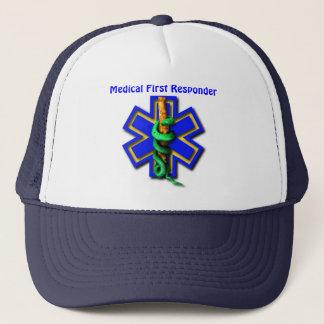 EMS Star of Life Medical First Responder Trucker Hat