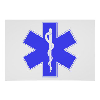 EMS-Star of Life, Poster