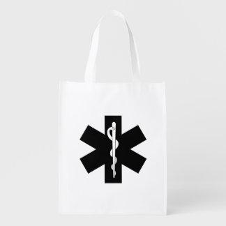 EMS Theme Reusable Grocery Bag