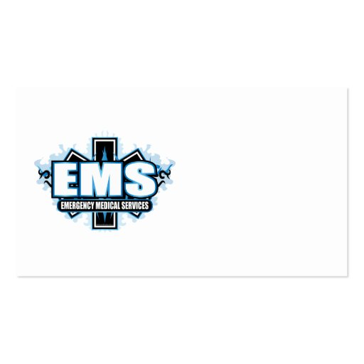 EMS Tribal Business Card Templates