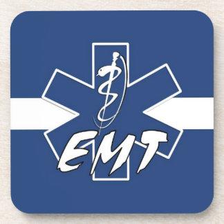 EMT Active Star of Life Drink Coaster