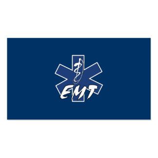 EMT Active Star of Life Pack Of Standard Business Cards
