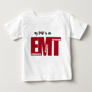 EMT BIG RED - EMERGENCY MEDICAL TECHNICIAN BABY T-Shirt