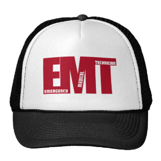 EMT BIG RED - EMERGENCY MEDICAL TECHNICIAN CAP