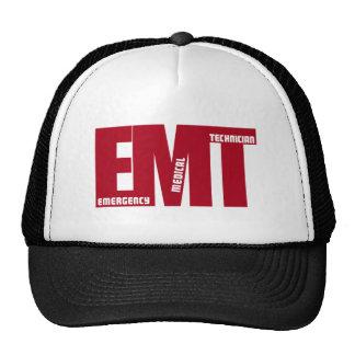 EMT BIG RED - EMERGENCY MEDICAL TECHNICIAN CAP