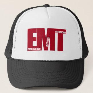 EMT BIG RED - EMERGENCY MEDICAL TECHNICIAN TRUCKER HAT