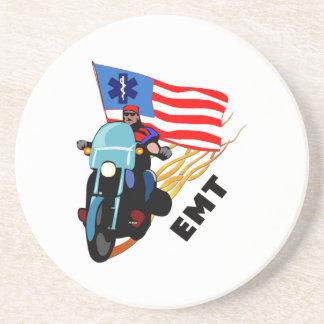 EMT Biker Beverage Coaster
