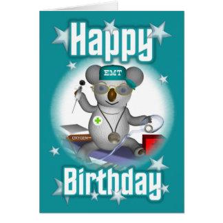 EMT Birthday Koala Card