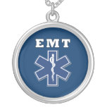 EMT Blue Star of Life Necklace