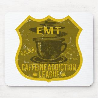 EMT Caffeine Addiction League Mouse Pads