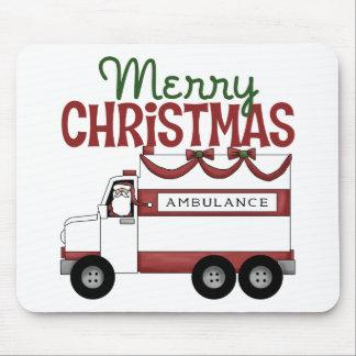 EMT Christmas Gift Mousepads
