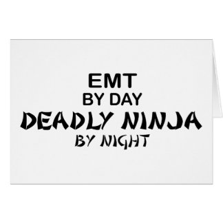 EMT Deadly Ninja by Night Card