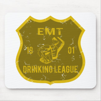 EMT Drinking League Mouse Pads