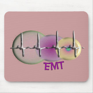 EMT Embossed Style QRS Gifts Mouse Pad