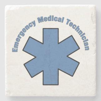 EMT Emergency Medical Tech Stone Beverage Coaster